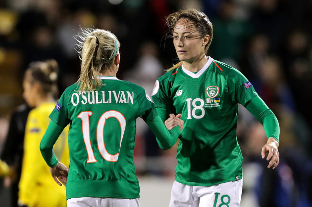 denise-osullivan-celebrates-after-the-game-with-megan-campbell