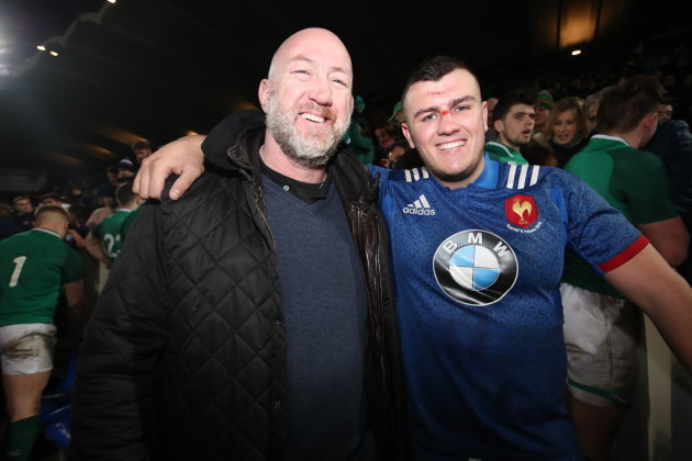 daniel-brennan-with-his-father-and-former-ireland-international-trevor-brennan-after-the-game