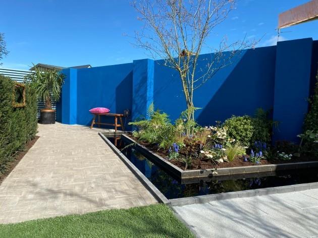 Mark Hoey - Garden After back left corner