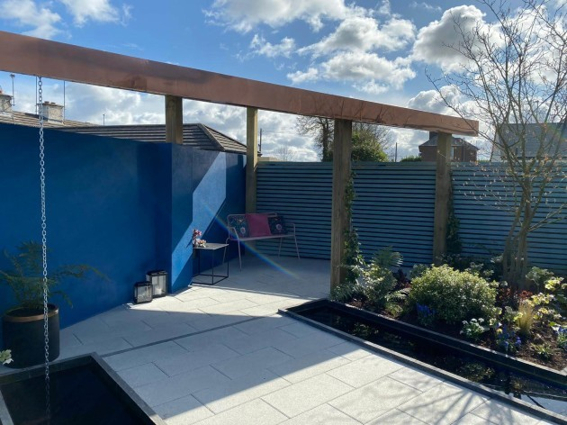 Mark Hoey - Garden After Garden room