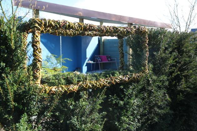 Mark Hoey - Garden After Garen room through hedge