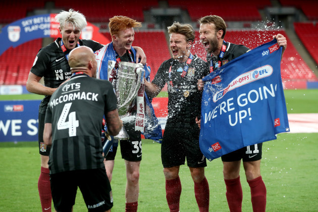 exeter-city-v-northampton-town-sky-bet-league-two-play-off-final-wembley-stadium