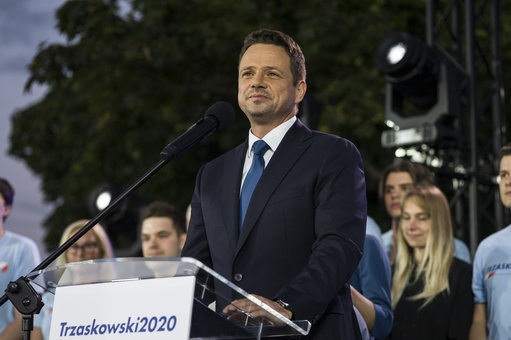 rafal-trzaskowskis-election-night-in-warsaw-poland-12-jul-2020