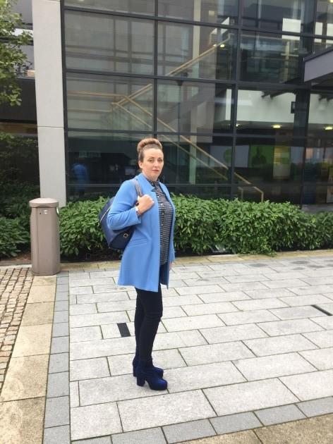 Pamela McLoughlin at the sentence hearing last week