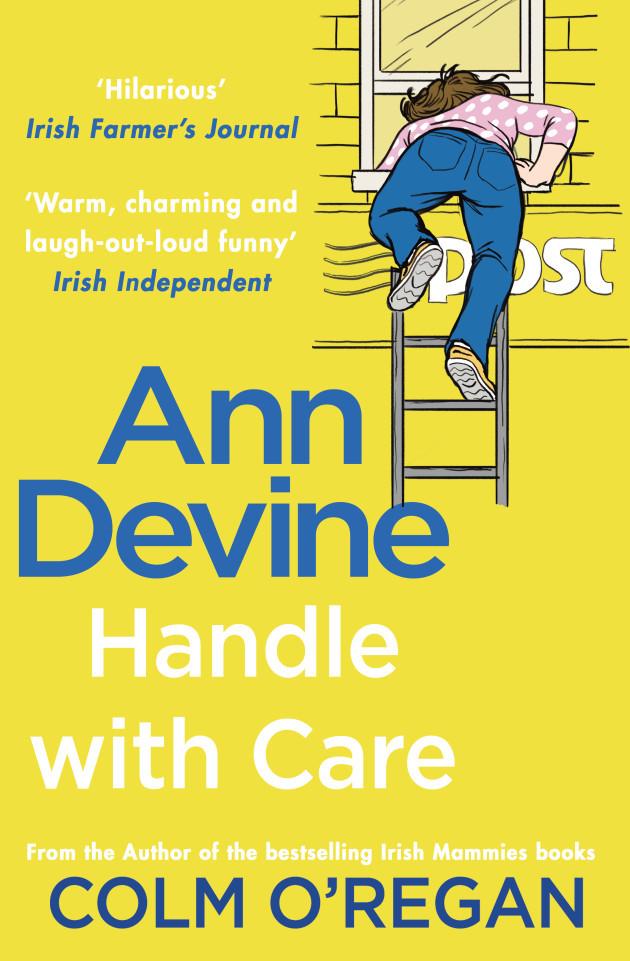 Colm O'Regan, Ann Devine Handle With Care_Jacket