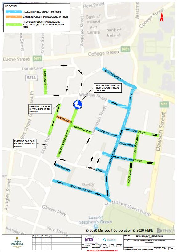 Map of Pedestrian Sts (1)