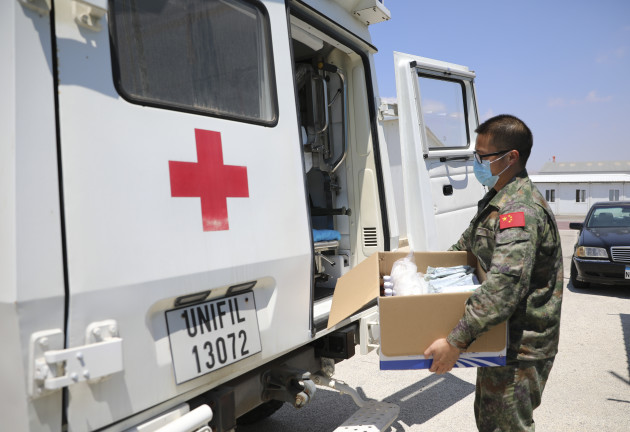 lebanon-beirut-chinese-peacekeeping-forces-medical-aid