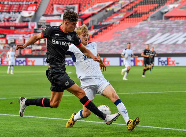 bayer-04-leverkusen-v-rangers-uefa-europa-league-round-of-16-second-leg-bayarena