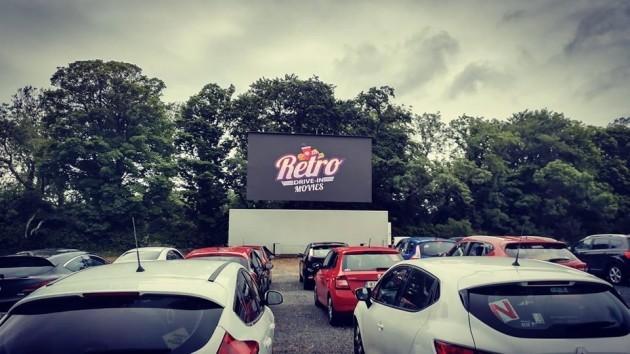 Retro Drive in Movies