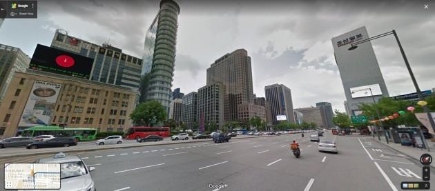 Google Maps South Korea