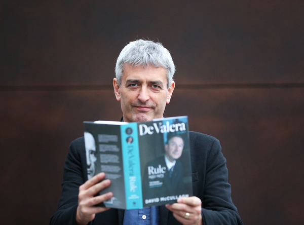 NO FEE0360 Launch of David McCullagh book De Valera