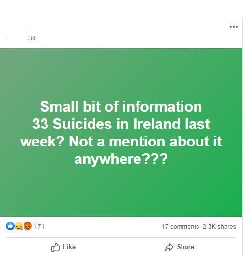 suicide claim