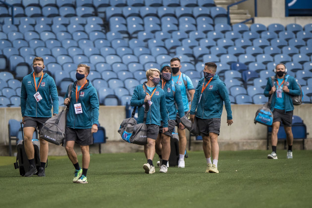 ulster-players-arrive-at-murrayfield-stadium