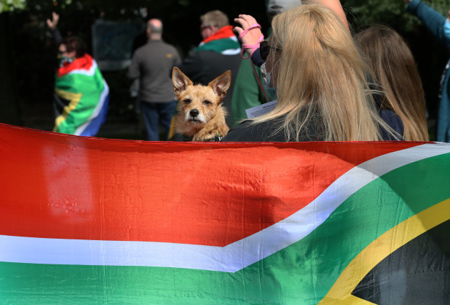 214 South Africa Move One Million March
