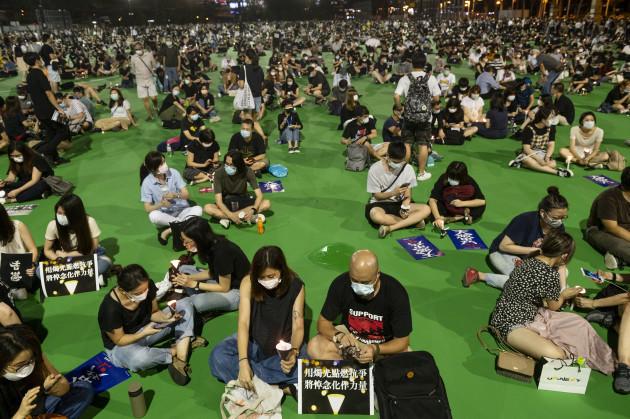 politic-turmoil-in-hong-kong-china-4-jun-2020