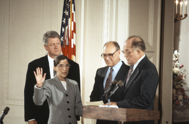 ruth-bader-ginsburg-is-sworn-in-as-associate-justice-of-the-united-states-supreme-court