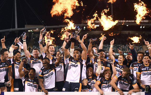 Brumbies hang on to win Super Rugby AU title over Reds