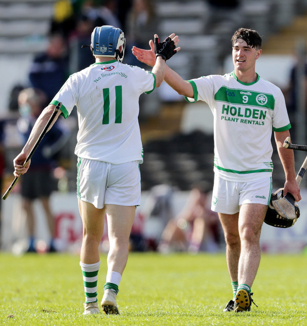 tj-reid-celebrates-at-the-final-whistle-with-ronan-corcoran