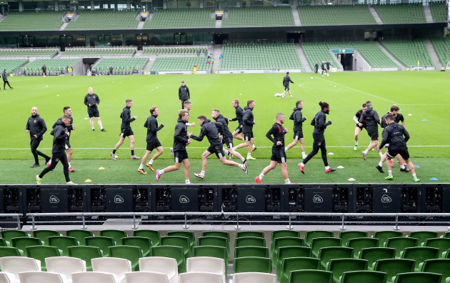 dundalk-players-training
