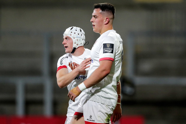 james-hume-celebrates-scoring-a-try-with-michael-lowry