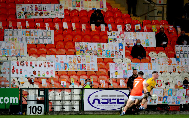 self-portraits-from-over-3000-primary-school-children-across-armagh-in-the-stands