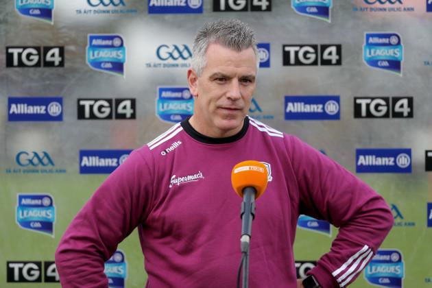 padraic-joyce-being-interviewed-before-the-game