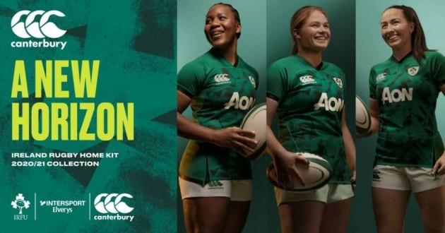Ireland womens jersey