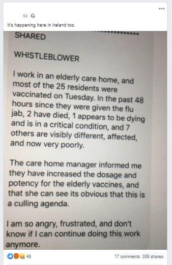 Care Home Factcheck Facebook 1