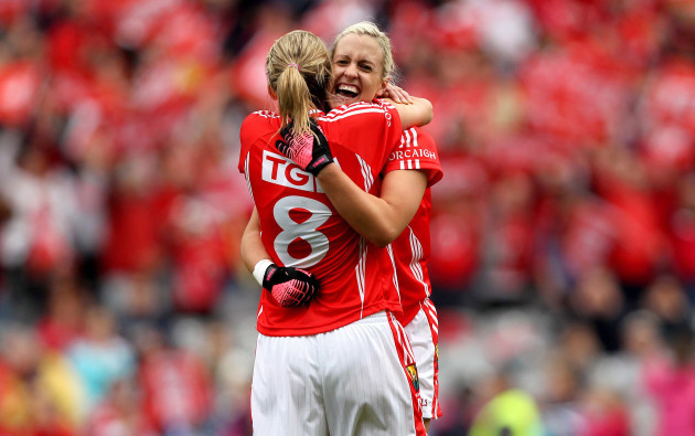 juliet-murphy-and-brid-stack-celebrate-at-the-final-whistle