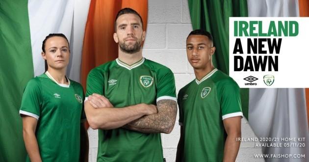 Ireland home umbro
