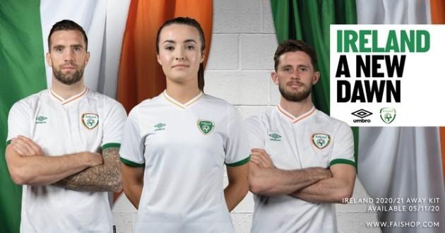 Ireland away