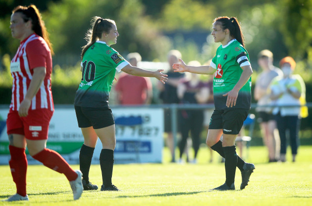 aine-ogorman-and-eleanor-ryan-doyle-celebrate-their-sides-first-goal