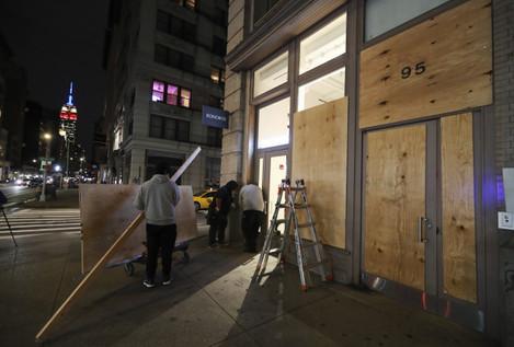 u-s-new-york-election-night-security