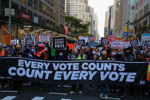 count-every-vote-rally-in-new-york