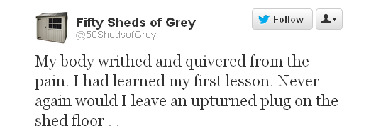 The Original And Still One Of The Best Like Fifty Shades Of Grey Only With Sheds
