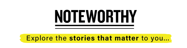 Noteworthy - Explore the stories that matter to you (Logo)