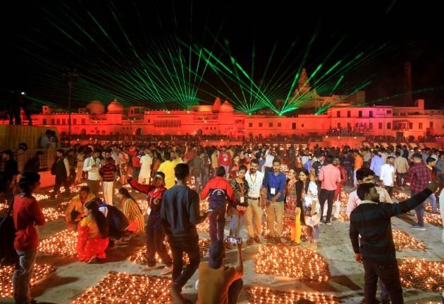 india-ayodhya-diwali-lights