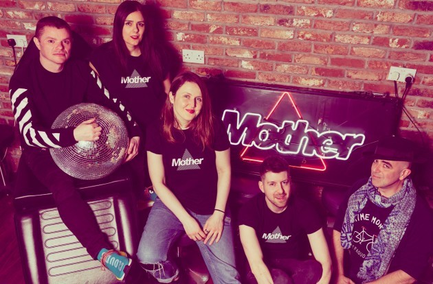 Mother Family, left to right, Ghostboy, Ruth Kavanagh, Lisa Connell, Cormac Cashman, Rocky T Delgado. (1)