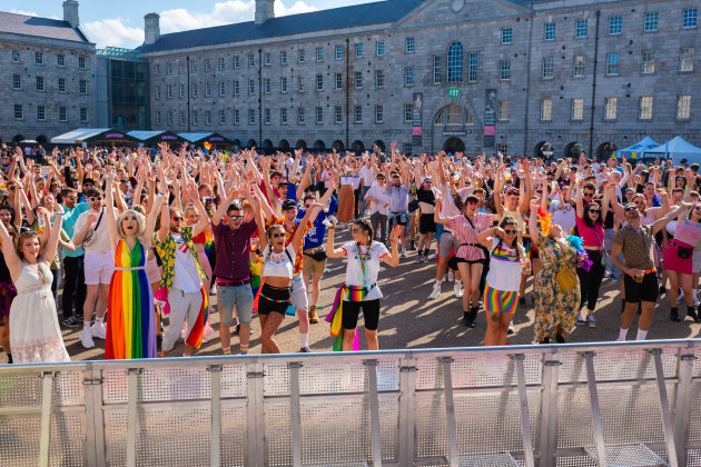 Mother Pride Block Party, National Museum Ireland, Collins Barracks