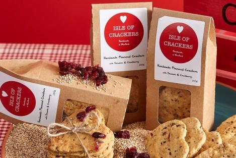 Isle of Crackers Product Range 3
