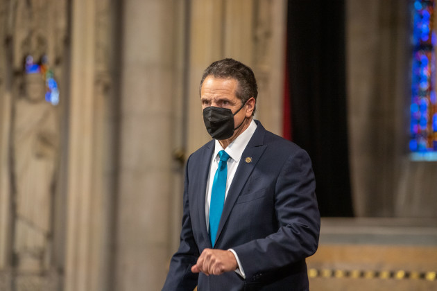 governor-andrew-cuomo-vows-to-do-better-job-with-coronavirus-covid-19-vaccine-than-any-other-state-in-new-york-us-15-nov-2020