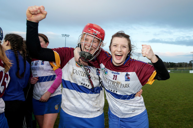 beth-carton-and-roisin-howard-celebrate-after-the-game