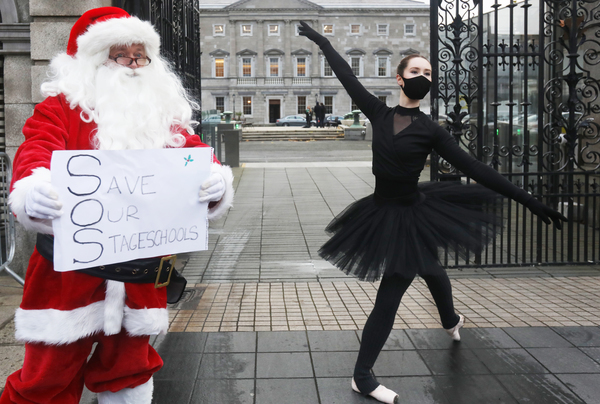 2918 Performing Arts Protest