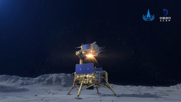 Moon blast off 2