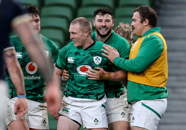 keith-earls-celebrates-after-scoring-a-try-with-robbie-henshaw-and-eric-osullivan