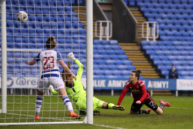 reading-v-manchester-united-fa-womens-super-league-madejski-stadium