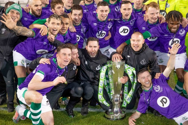 shamrock-rovers-players-celebrate-with-the-sse-airtricity-league-premier-division-trophy