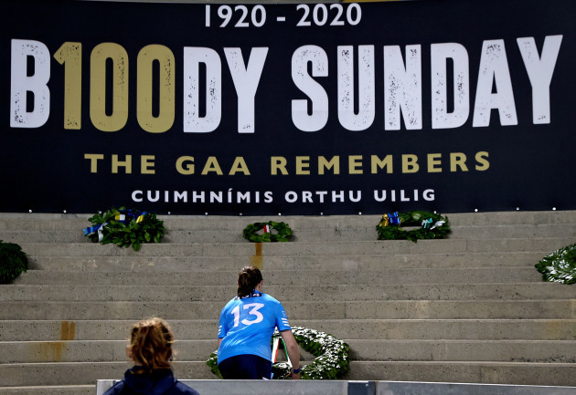 sinead-aherne-lays-a-wreath-at-the-bloody-sunday-memorial-in-croke-park
