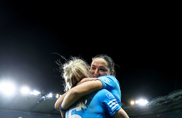 nicole-owens-and-sinead-goldrick-celebrate-after-the-game