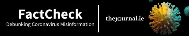 Covid FactCheck banner